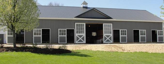 horse training facility